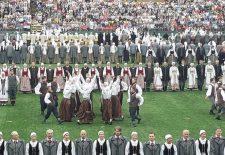 Šimtmečio dainų šventėje