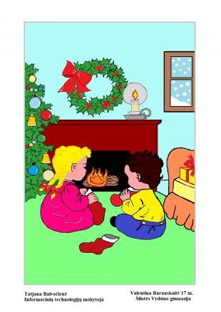 """Kūrėme """"Kompiuterinę Kalėdų pasaką"""""""