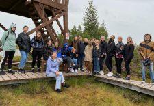 Ekologų išvykoje pakrikštyti nauji klubo nariai